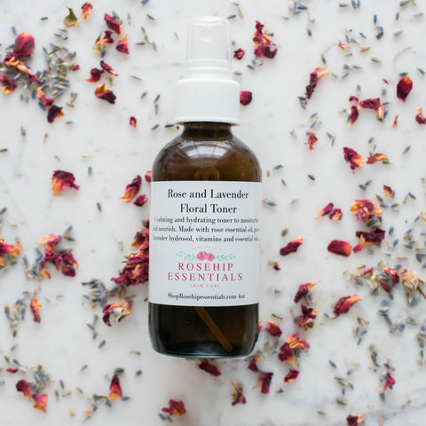 Rose and Lavender Floral Toner