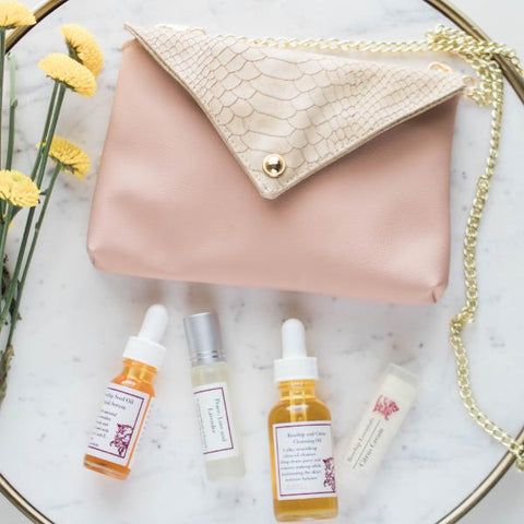 Travel Bag Spa Set. - Collaboration with Ceibo