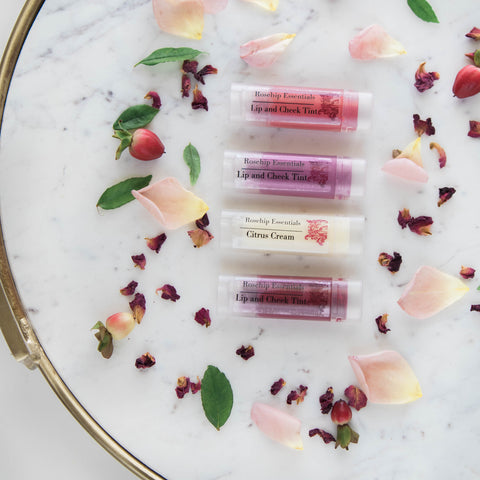 Rosehip Essentials Mineral Lip and Cheek Tint Set