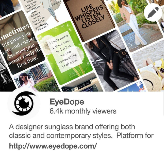 Exciting New Pinterest Boards From EyeDope!