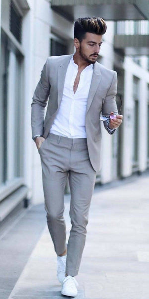 "Suits & Sneakers – The New ""It"" Style for Men"