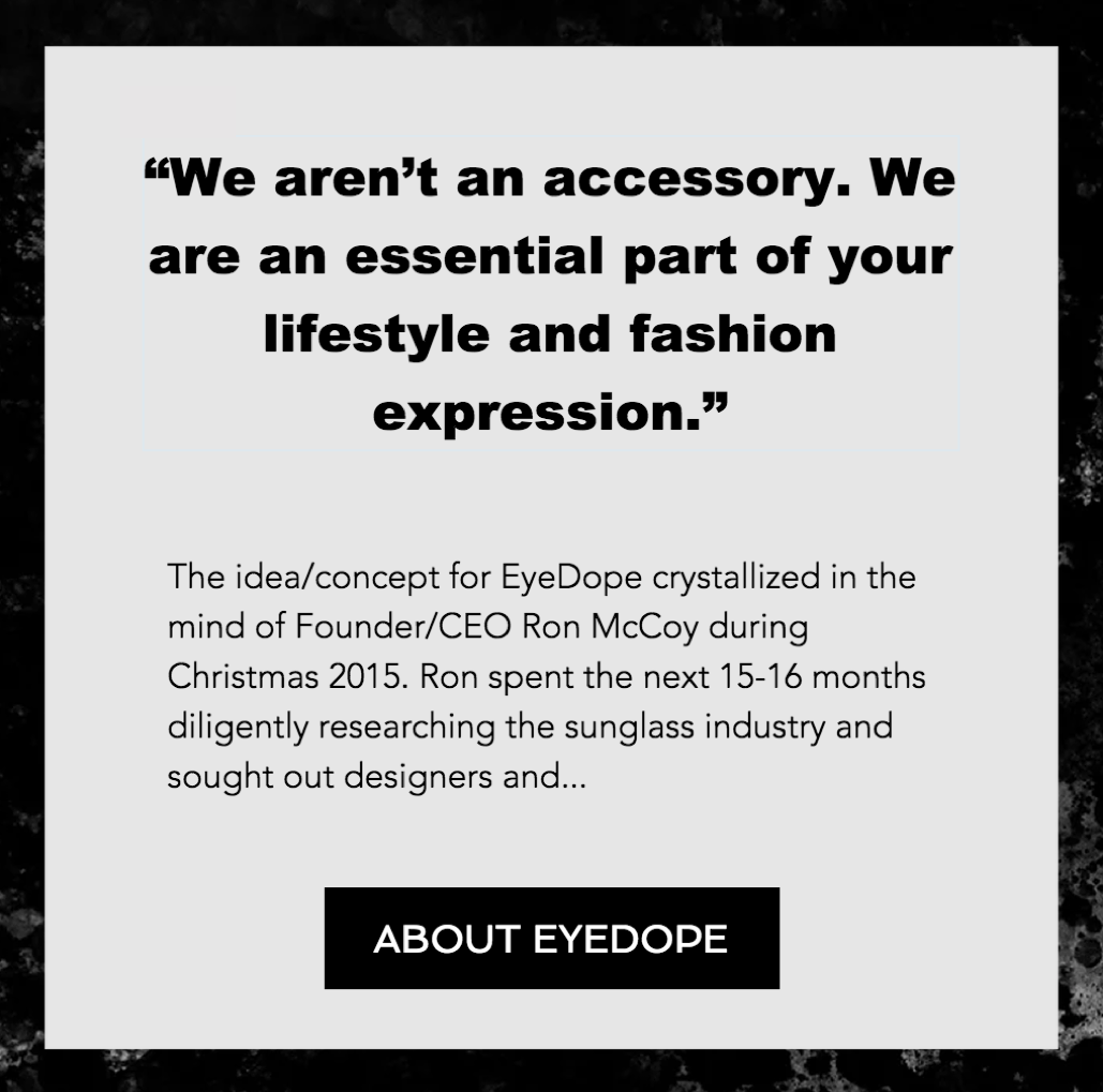 About EyeDope