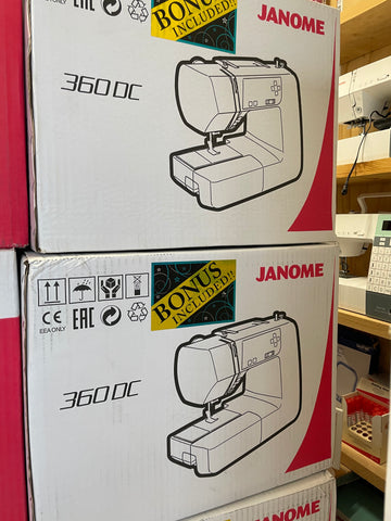 Janome 360DC in Stock