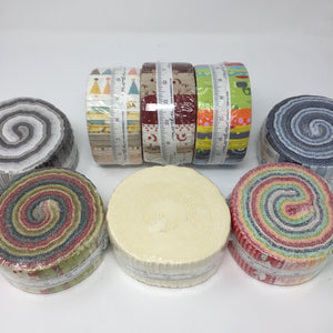Moda Jelly Rolls-Fabric Mouse Sewing Machines