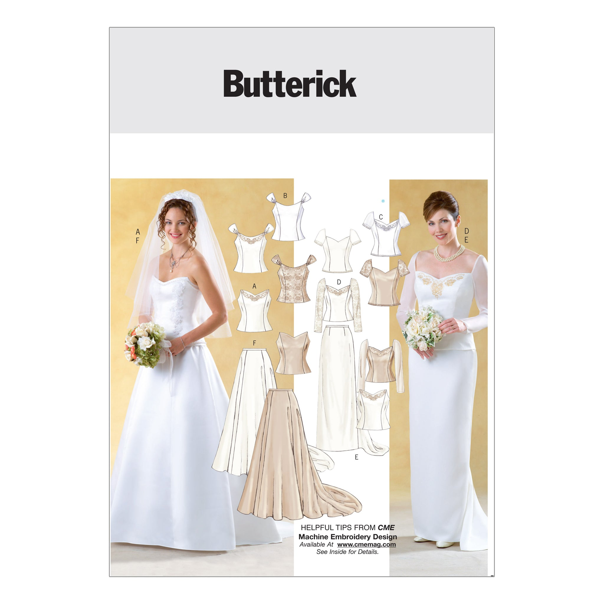 Butterick B4131060 Misses' Top and Skirt 6-8-10