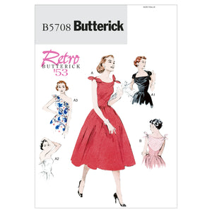 Butterick B5708E50 Misses' Dress 14-16-18-20-22