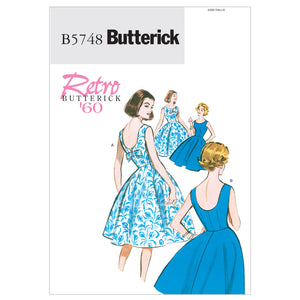 Butterick B5748E50 Misses'/Misses' Petite Dress 14-16-18-20-22