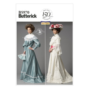 Butterick B5970B50 Misses' Top and Skirt 8-10-12-14-16