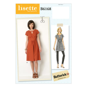 Butterick B6168E50 Misses' Tunic and Dress 14-16-18-20-22