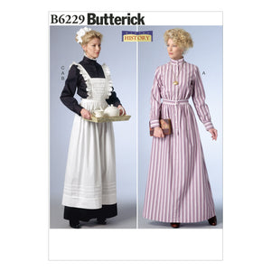 Butterick B6229A50 Misses' Costume 6-8-10-12-14