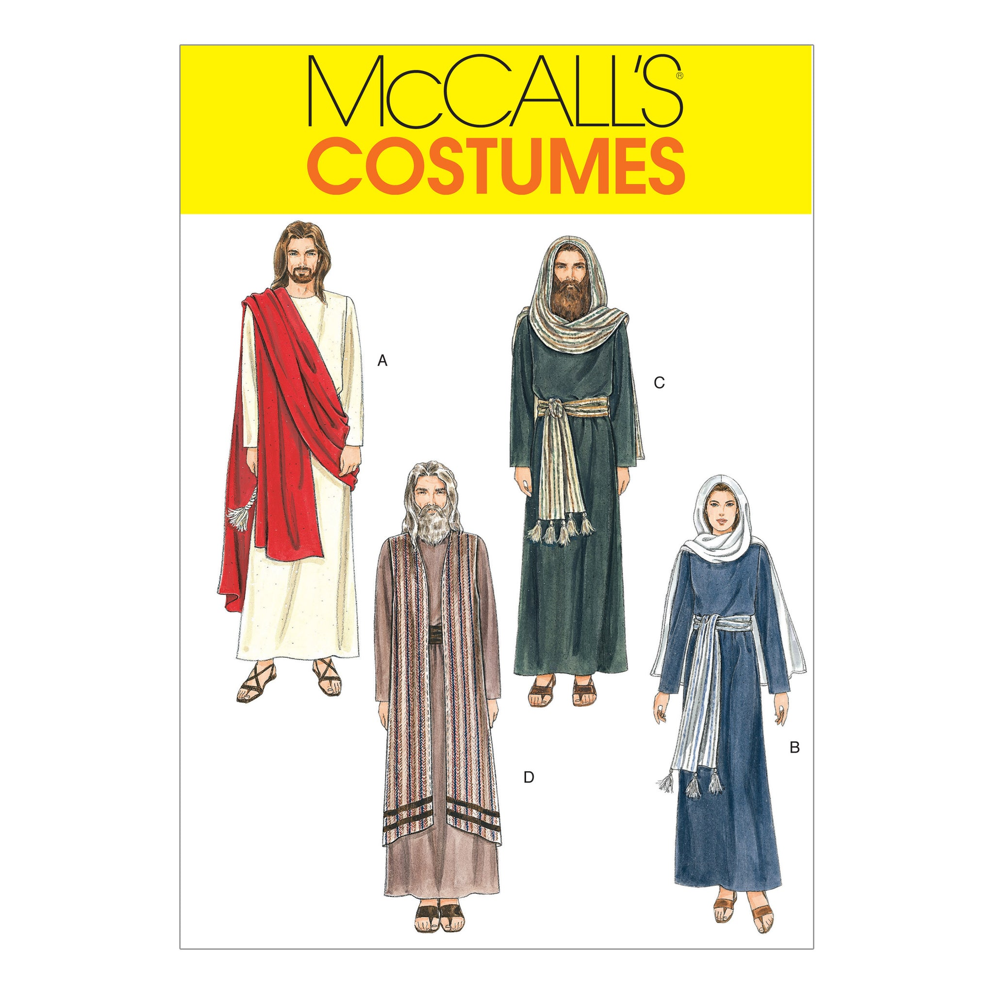 McCall's M2060XLG Easter Costumes XLG