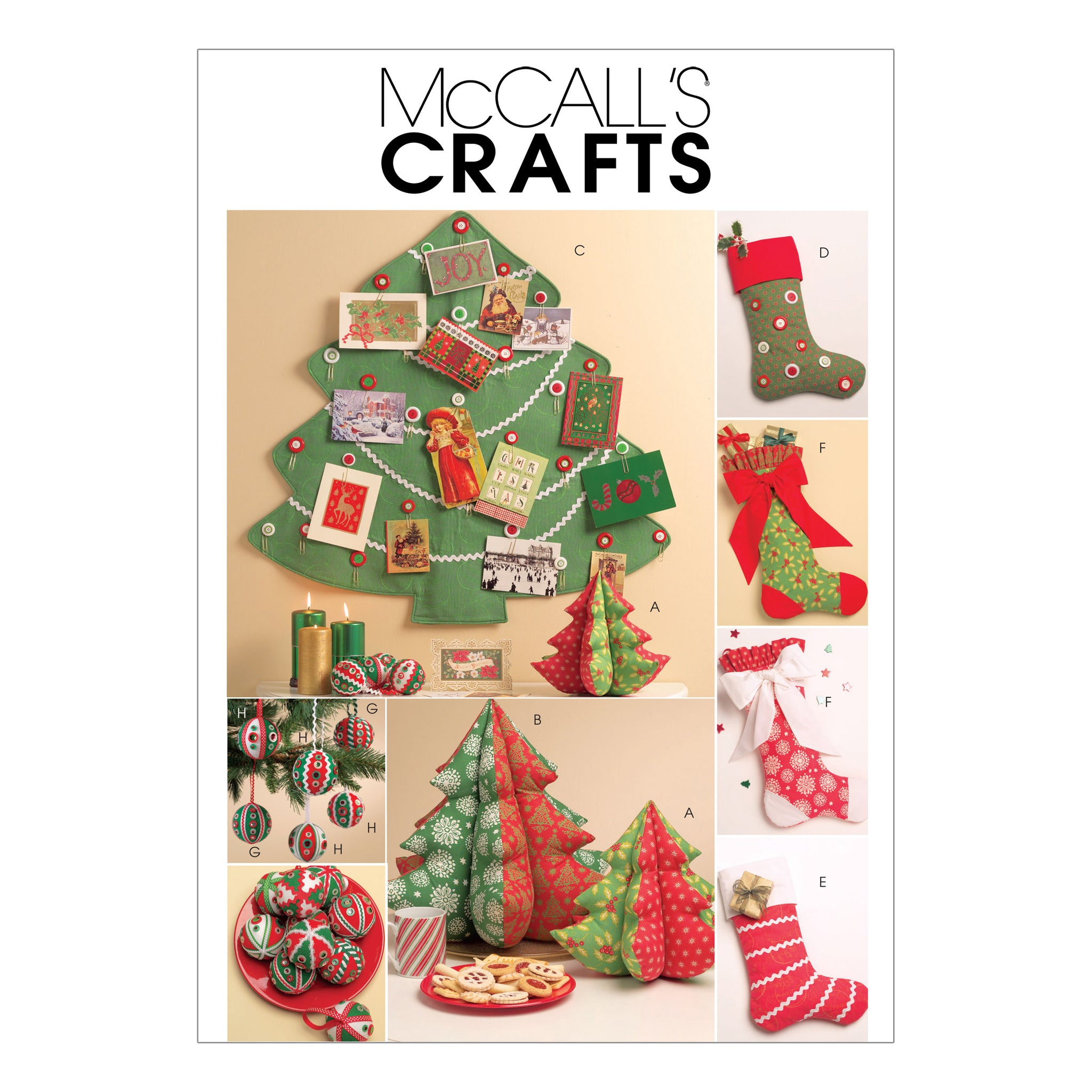 McCall's M5778OSZ Holiday Decorations One Size Only