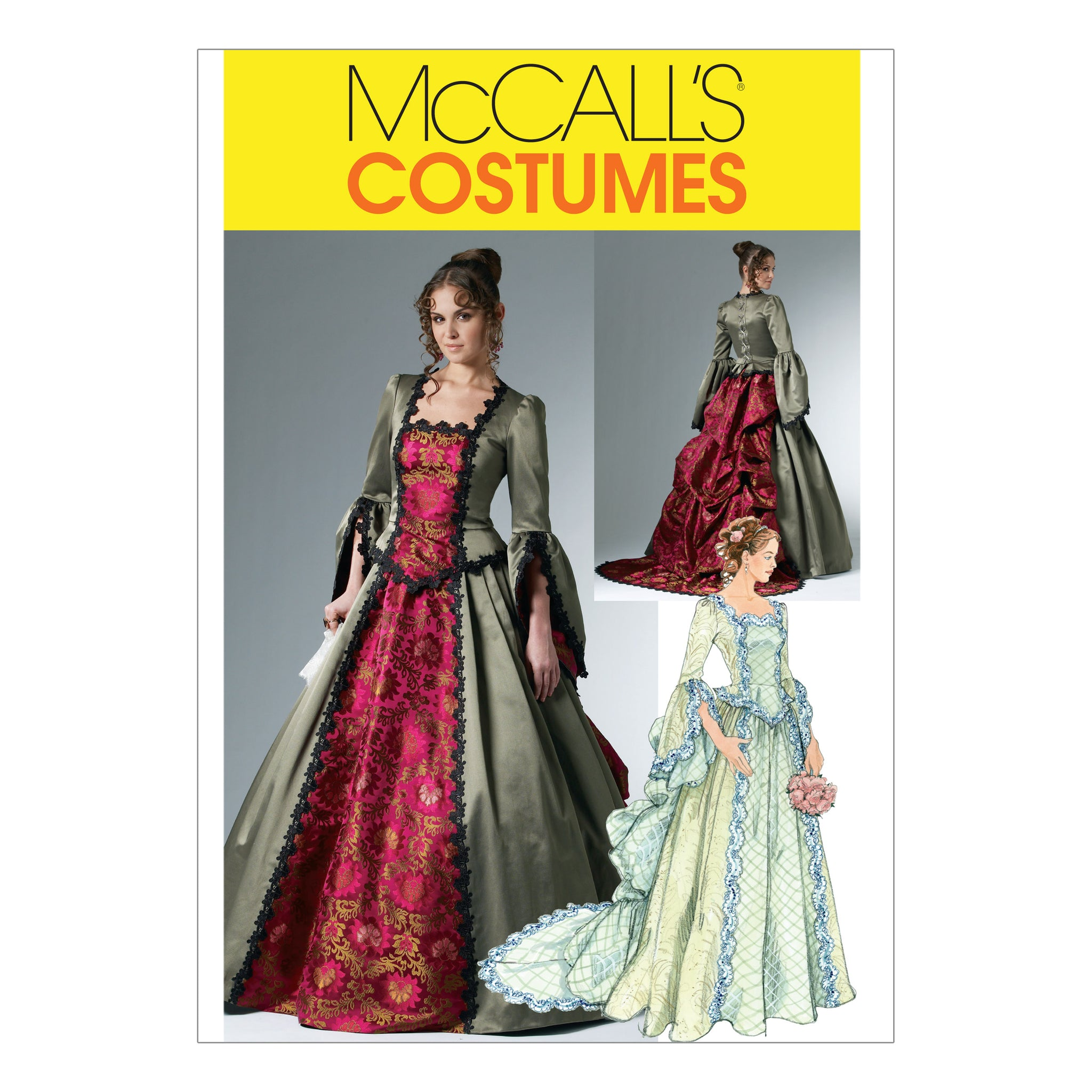 McCall's M6097AA0 Misses' Victorian Costume 6-8-10-12