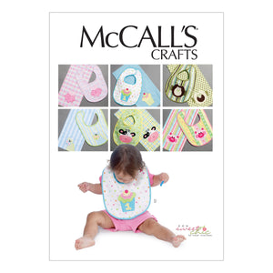 McCall's M6478OSZ bibs and burp Cloths One Size Only
