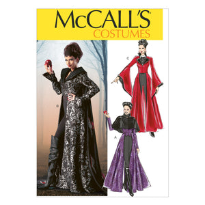 McCall's M6818AX5 Misses' Costumes 4-6-8-10-12
