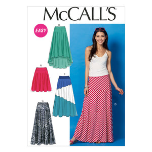 McCall's M6966ZZ0 Misses' Skirts LRG-XLG-XXL