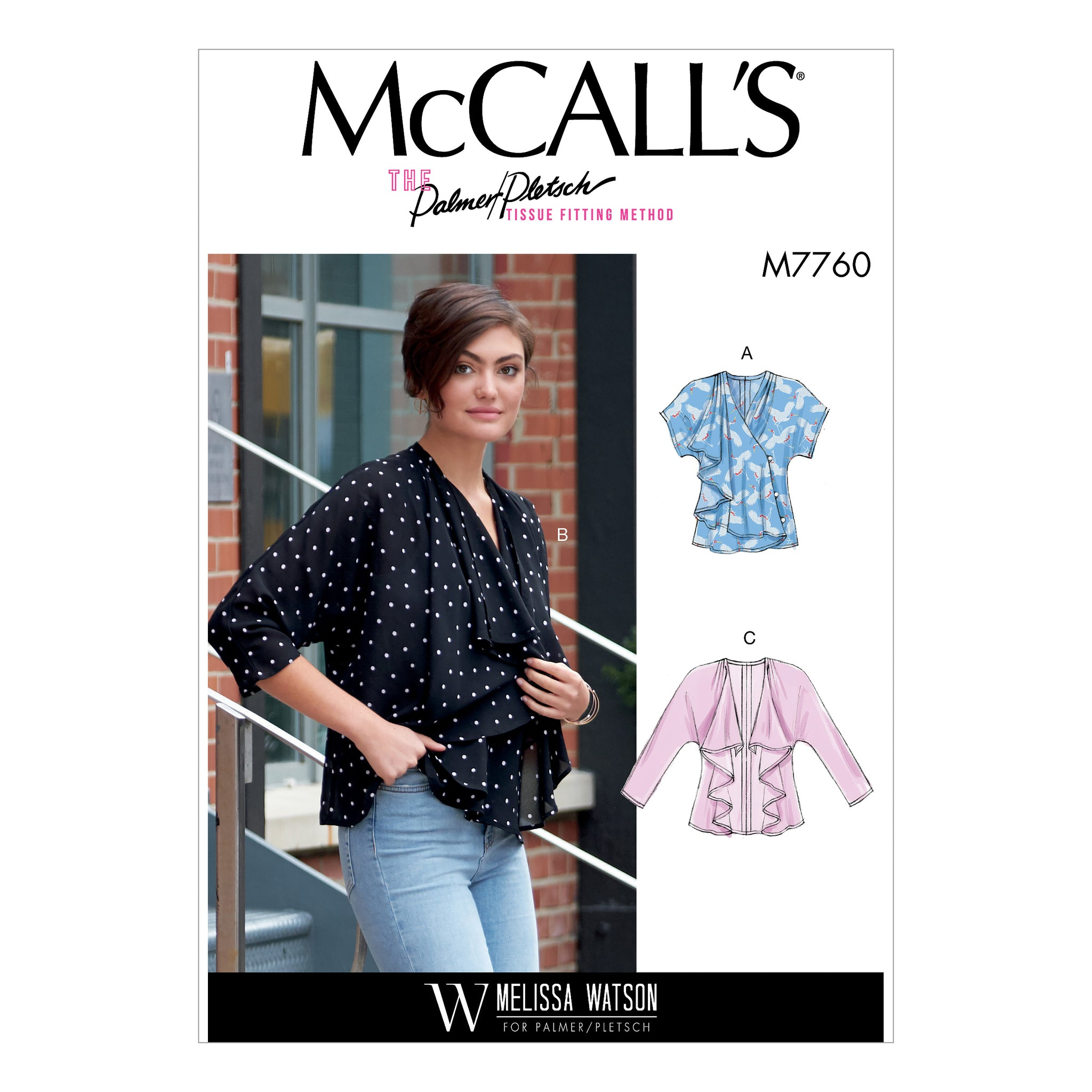 McCall's M7760E50 Misses' Vest and Jackets 14-16-18-20-22