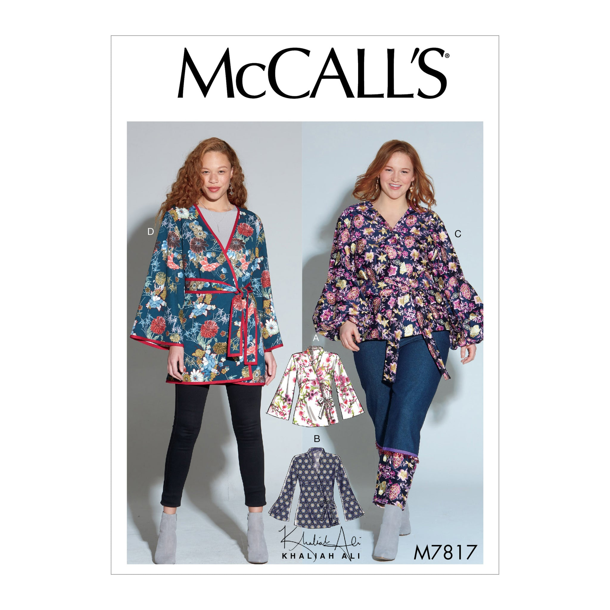 McCall's M7817BB Misses'/Women's Jackets 8-10-12-14-16