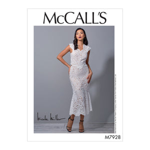 McCall's M7928AX5 Misses' Special Occasion Dress 4-6-8-10-12