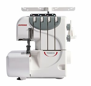 Janome 9300dx Overlocker 4 thread