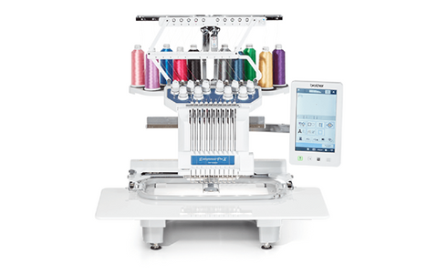 Brother PR1055x Multi-Needle Embroidery Machine