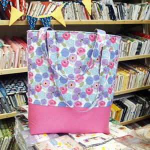 Beginners - Make a foam lined bag with Sarah Fabric Mouse Sewing Class - Fabric Mouse