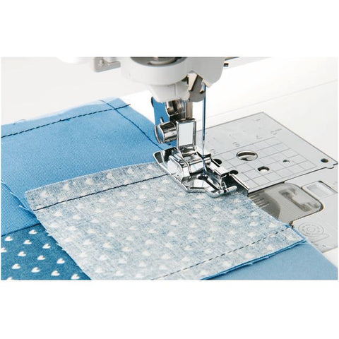 Image of Brother 1/4 inch piecing foot with guide Brother Sewing Feet - Fabric Mouse