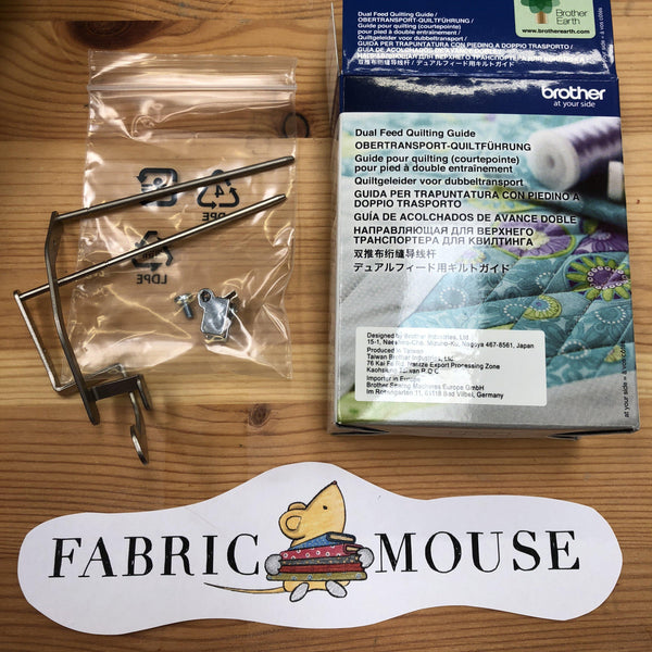 Brother Dual Feed Quilting Guide Brother Sewing Feet - Fabric Mouse