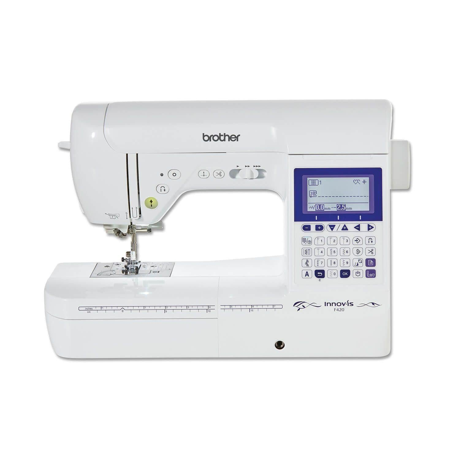 Brother Innovis F420 - Free Creative Quilt Kit until July 31st! Brother Sewing Machines - Fabric Mouse