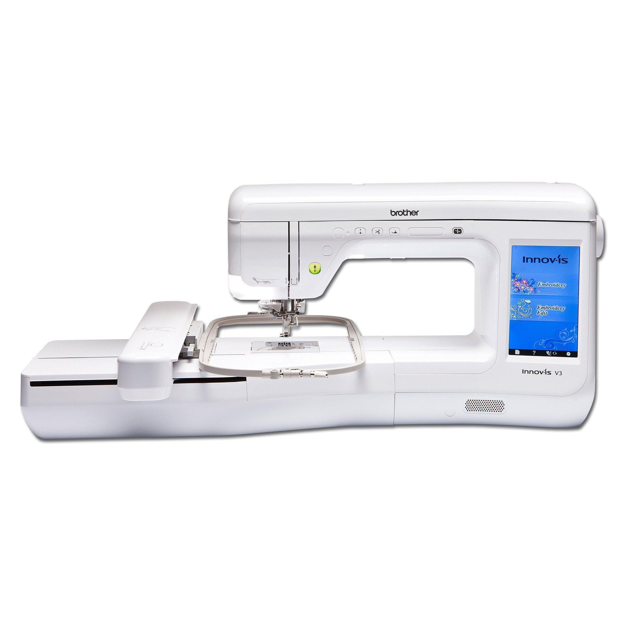 Brother Innovis V3 Embroidery Machine - Free Premium Pack 1 and LED Pointer Embroidery Foot worth £297.98 until July 31st! Brother Embroidery Machines - Fabric Mouse