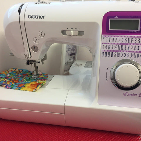 Brother NV27SE ex-demo Fabric Mouse Sewing Machines - Fabric Mouse