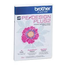 Brother PE-Design Plus 2 Brother Embroidery Software - Fabric Mouse