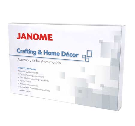 Crafting & Home Decor Kit for Janome Atelier 7 (JHD1)