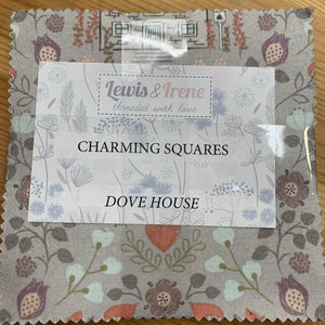 Dove House Charm Pack by Lewis & Irene quilt fabrics Lewis & Irene Charm Pack - Fabric Mouse