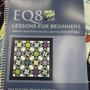 EQ8 Quilt Software Beginners Guide Training Book EQ8 Quilt Design Software - Fabric Mouse