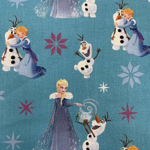 Frozen Fabric 110cm wide Camelot Fabric - Fabric Mouse
