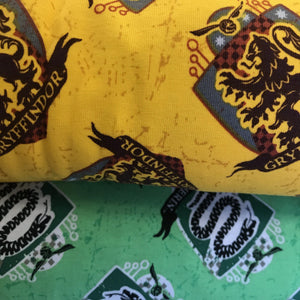 Harry Potter Stretch Fabric by Camalot Per Metre fabricmouse  - Fabric Mouse