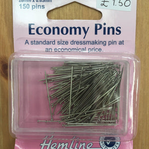 Hemline Economy Pins H670-Pins & Needles-Hemline-Fabric Mouse