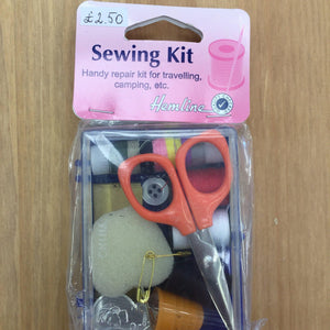 Hemline Sewing Kit-Fabric Mouse-Fabric Mouse