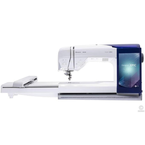Husqvarna Designer Epic Sewing machine-Sewing Machines-Husqvarna-Fabric Mouse