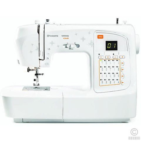 Husqvarna H-Class 100Q Sewing Machine-Sewing Machines-Husqvarna-Fabric Mouse