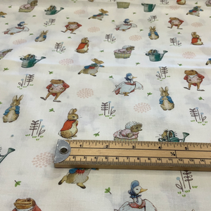 Peter Rabbit  - 100% Cotton Fabric - LFI22