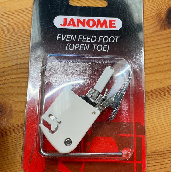 Janome Open Toe Walking Foot Cat B 200339007