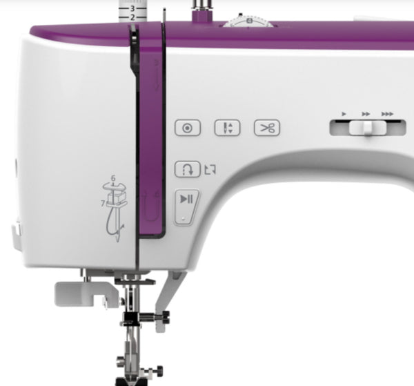 Necchi NC-204D Sewing Machine with Free Extension Table