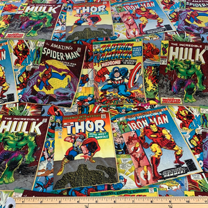 Marvel Fabric - Comic Covers LFB11