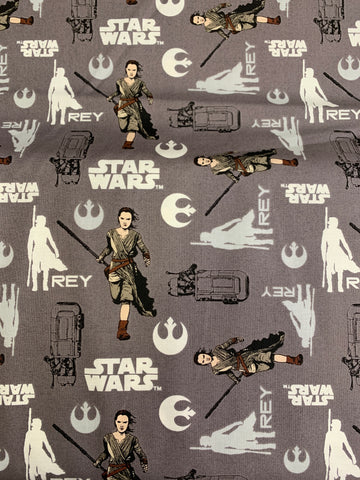 LFA17 ray on grey Star Wars fabric