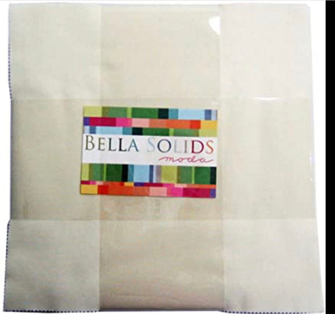 Moda Bella Solids (cream) Layer Cake 9900LC-11