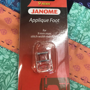 Janome Applique Foot Category D 9mm Cat.D-Sewing Feet-Janome-Fabric Mouse
