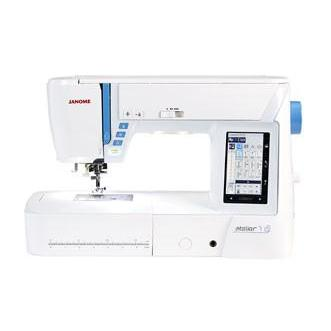 Janome Atelier 7 Sewing Machine Janome Sewing Machines - Fabric Mouse