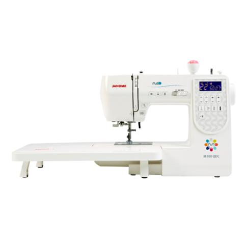 Janome M100 QDC Sewing Machine-Sewing Machines-Janome-Fabric Mouse